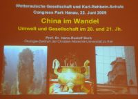 China im Wandel - 01 Präsentation (Bildautor: Edda Rose)